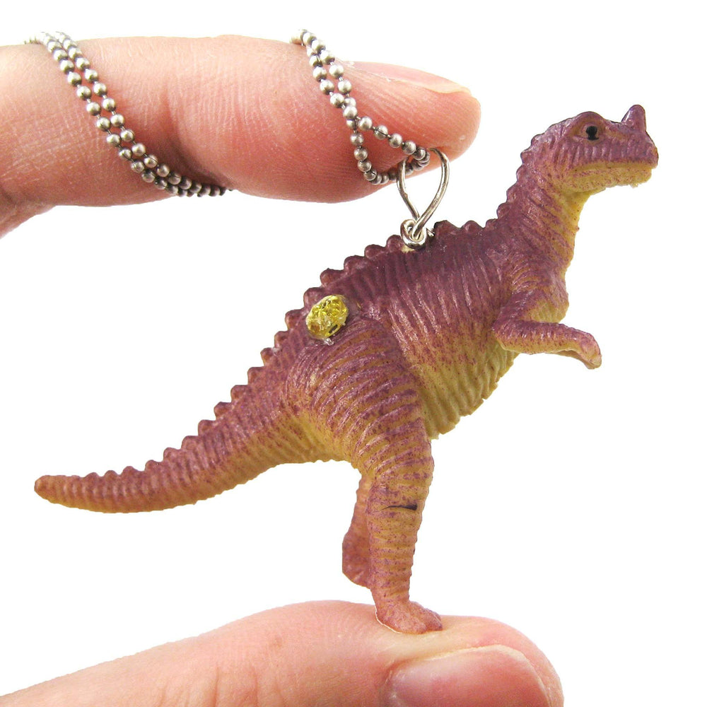 classic-dinosaur-with-horn-figurine-pendant-necklace-animal-jewelry