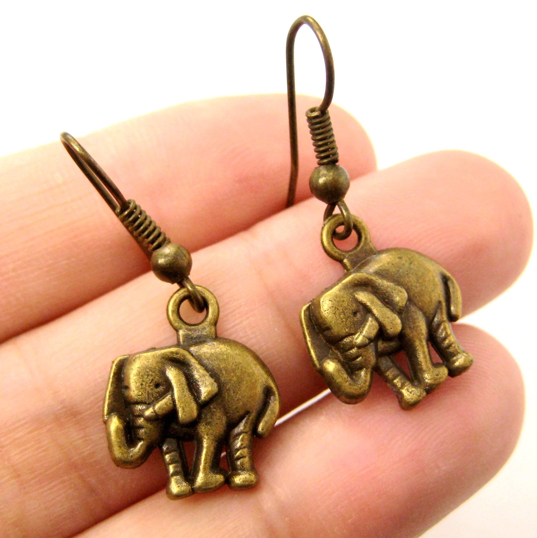 classic-elephant-shaped-dangle-earrings-in-brass-animal-jewelry