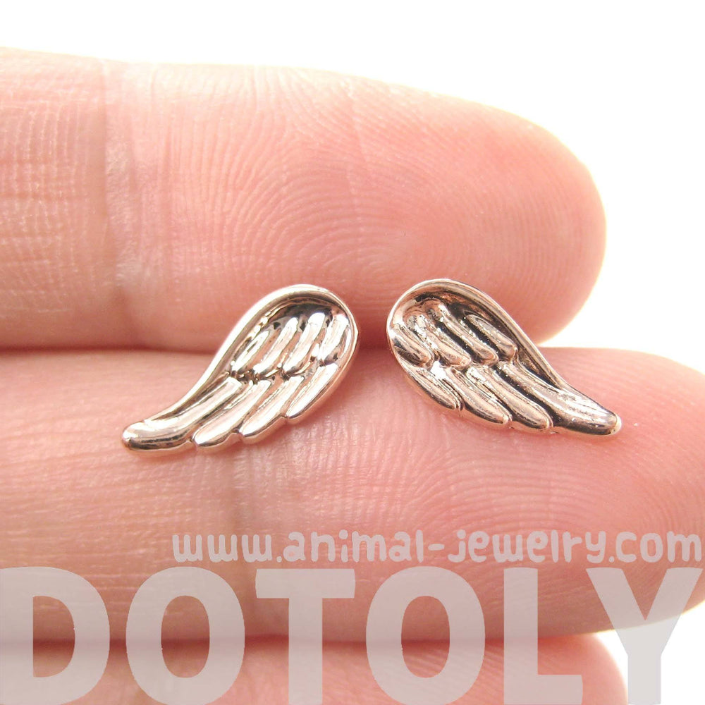 classic-feather-shaped-angel-wing-stud-earrings-in-rose-gold-dotoly