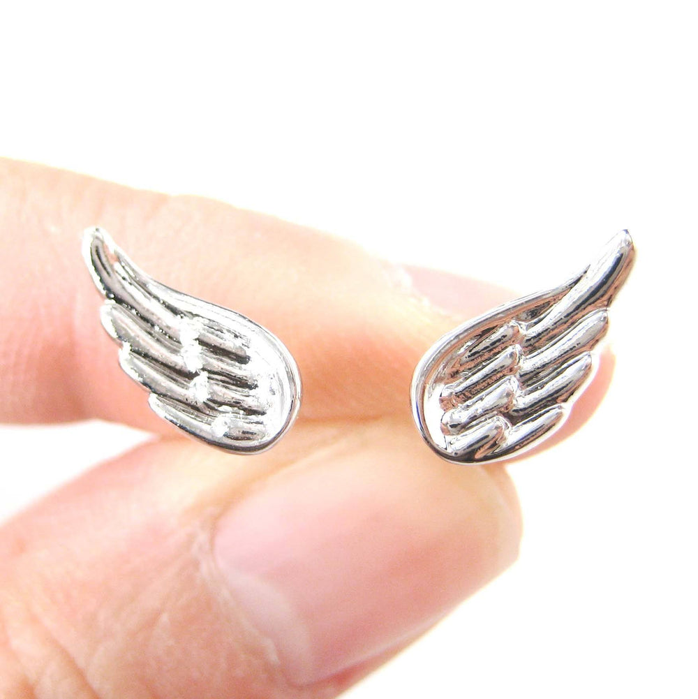 classic-feather-shaped-angel-wing-stud-earrings-in-silver-dotoly