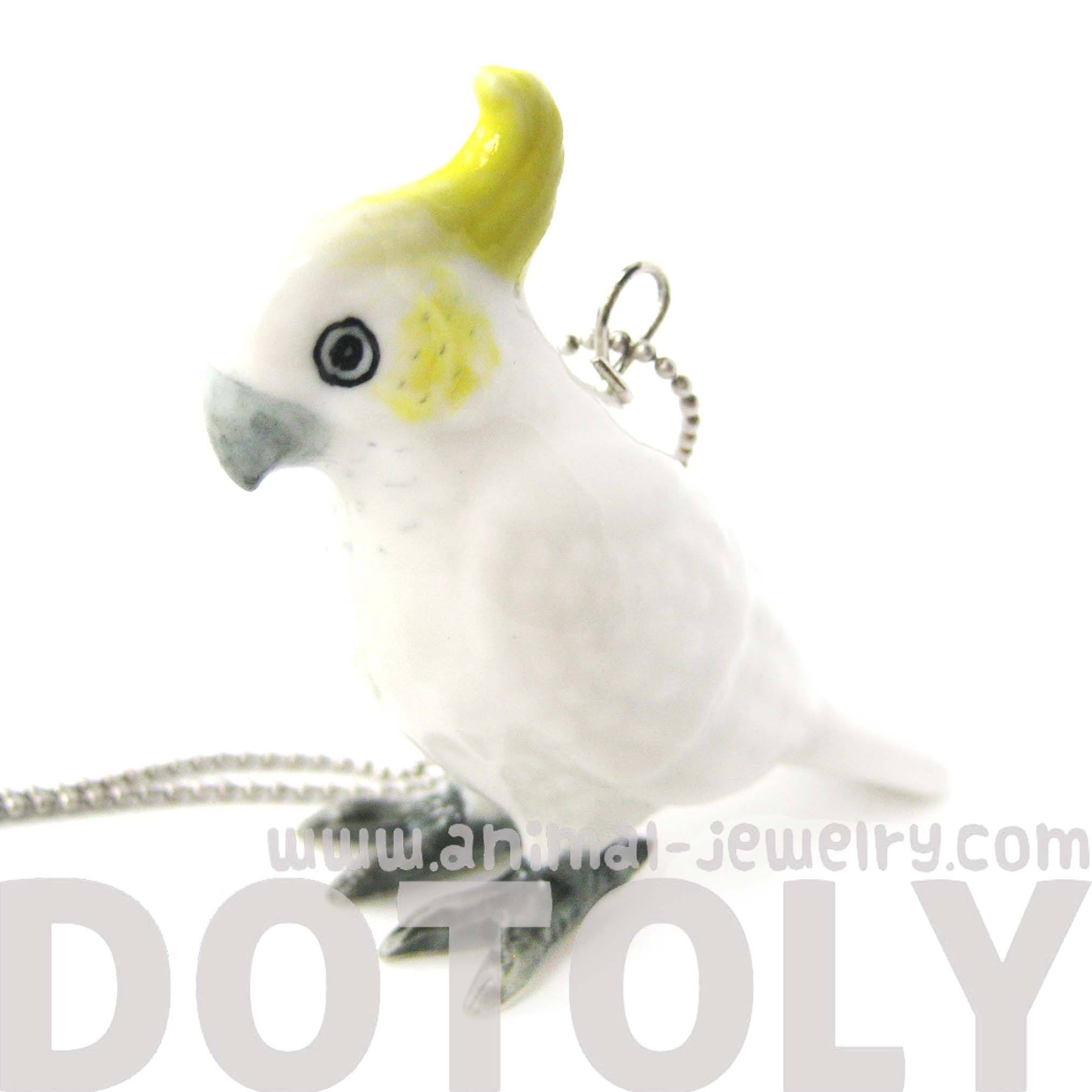 cockatoo-parrot-bird-porcelain-ceramic-animal-pendant-necklace-handmade