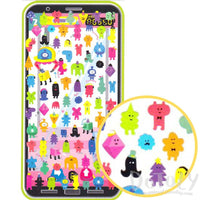 Colorful Claw Machine Monster Aliens Shaped Stickers