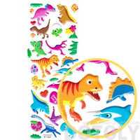 Colorful Kawaii Dinosaur Shaped Prehistoric Animal Stickers for Kids