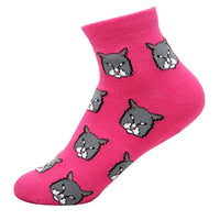 colorful-kitty-cat-animal-graphic-print-cotton-short-socks-for-women-in-pink