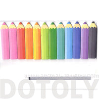 Coloring Pencil Shaped Back to School Memo Post-it Index Bookmark Tabs