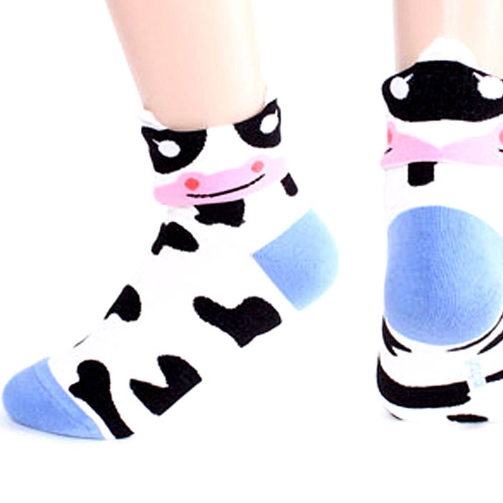 cow-shaped-cute-animal-short-cotton-socks-for-women-dotoly