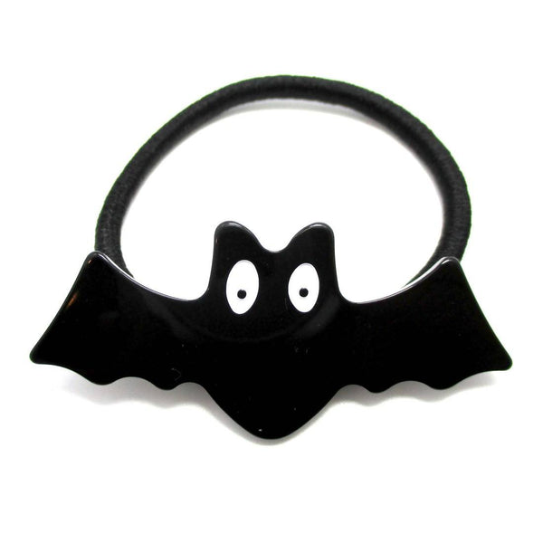 Acrylic Bat Animal Shaped Hair Tie Pony Tail Holder
