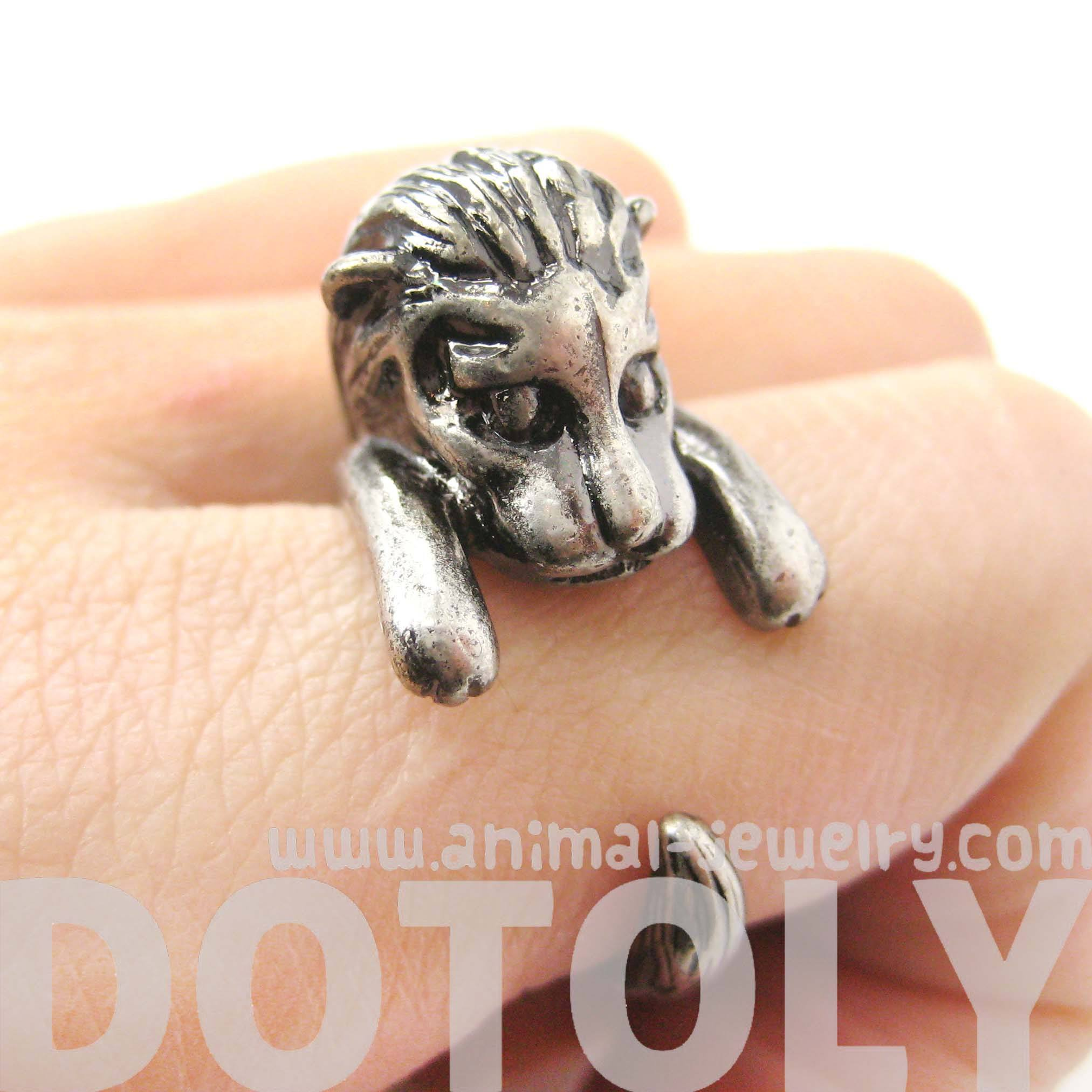 cute-lion-shaped-animal-wrap-ring-in-silver-us-sizes-7-to-9