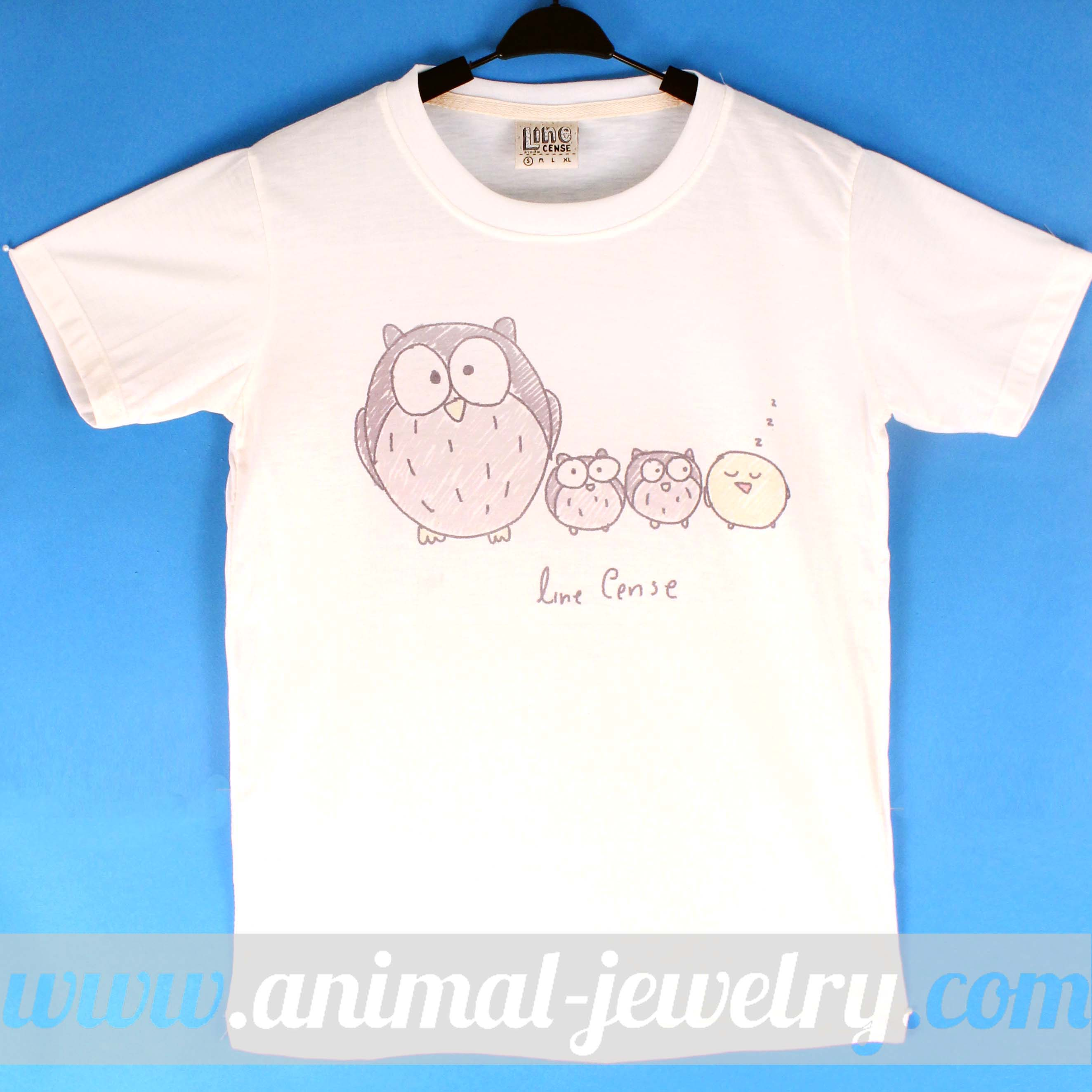 cute-owl-and-birds-illustration-print-on-t-shirt