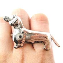 dachshund-puppy-dog-shaped-double-finger-animal-ring-in-shiny-silver-dotoly