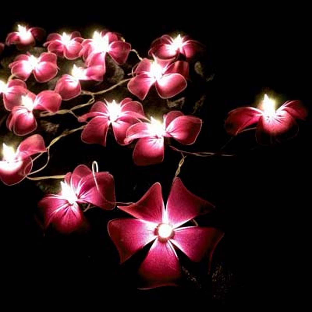 dark-maroon-purple-floral-flower-handmade-string-lights