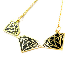 diamond-shaped-outline-pendant-necklace-in-black-on-gold-limited-edition