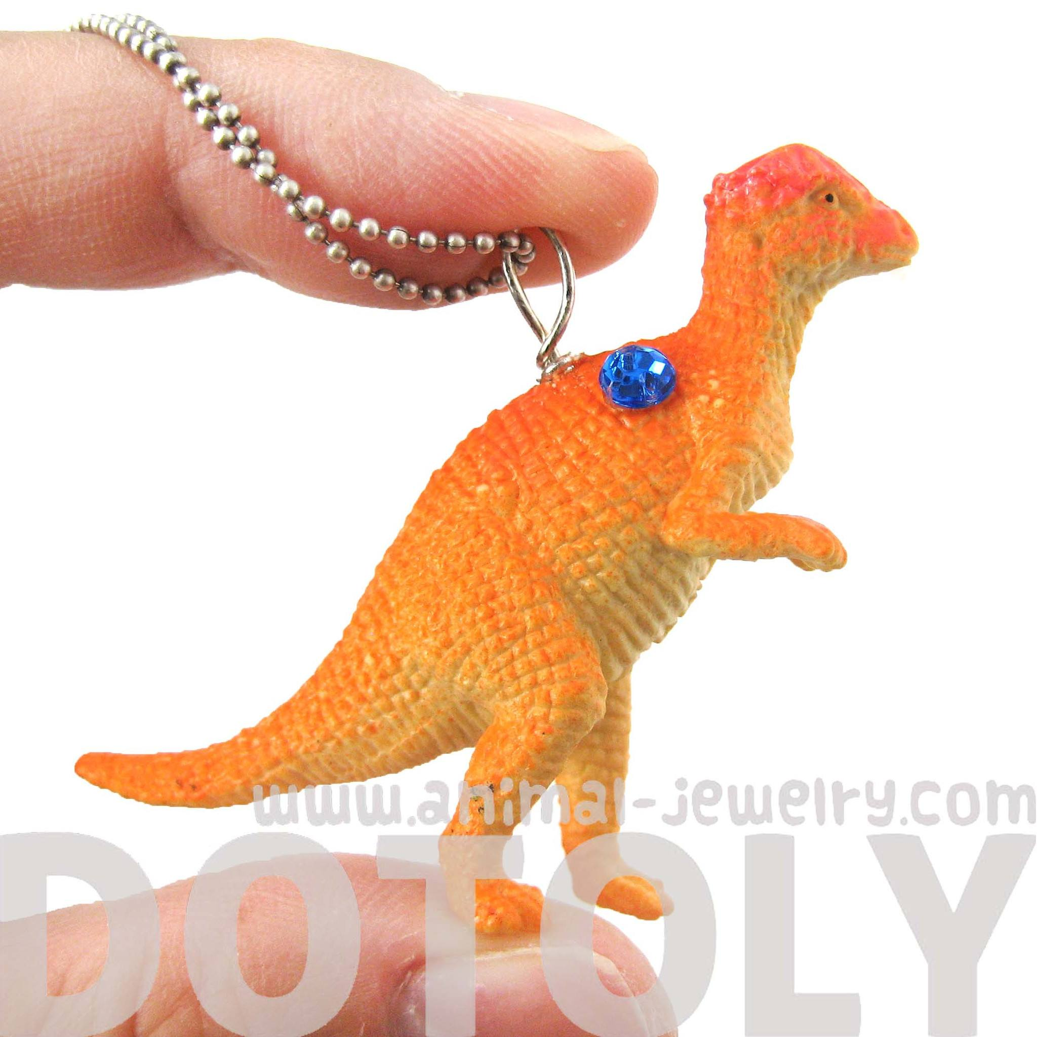dinosaur-pachycephalosaurus-bone-head-shaped-pendant-necklace-animal-jewelry