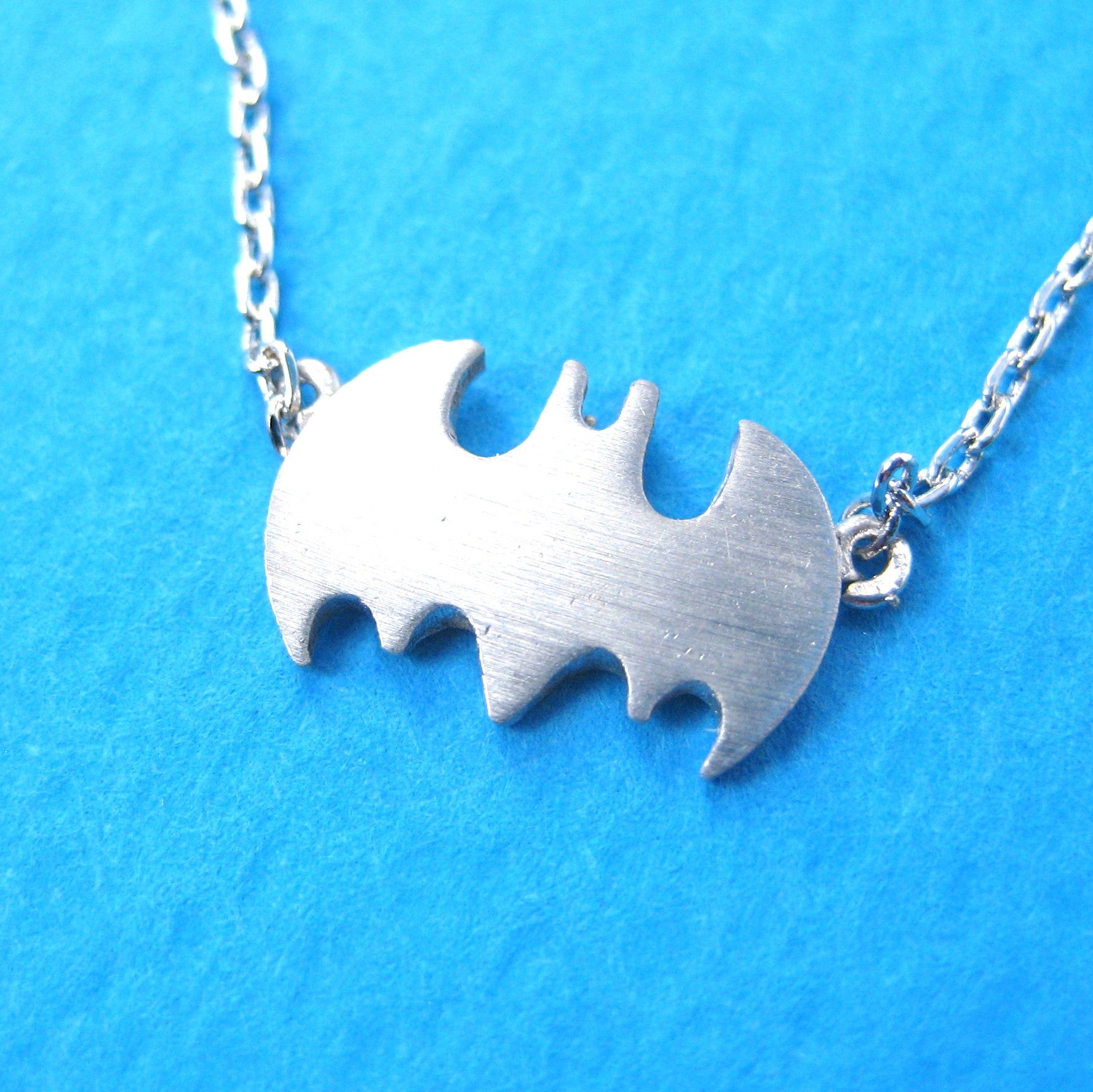 batman-logo-bat-symbol-silhouette-charm-necklace-in-silver