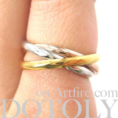 three-connected-rings-linked-into-one-ring-copper-gold-silver