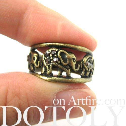elephant-animal-ring-in-bronze-sizes-6-to-8-only