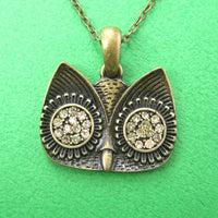 simple-owl-bird-animal-charm-necklace-in-bronze-with-rhinestones