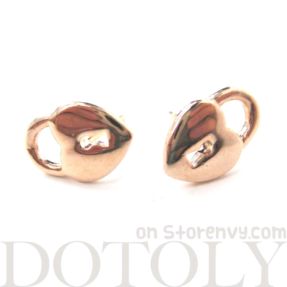 heart-shaped-key-to-my-heart-lock-stud-earrings-in-rose-gold