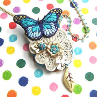 butterfly-brooch-and-necklace-embroidered-with-lace-and-floral-detail