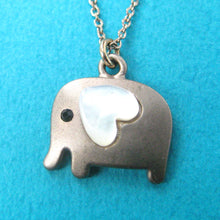 small-elephant-animal-charm-necklace-in-dark-silver-with-heart