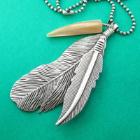 feather-bohemian-inspired-necklace-in-silver