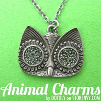 simple-owl-bird-animal-charm-necklace-in-silver-with-rhinestones