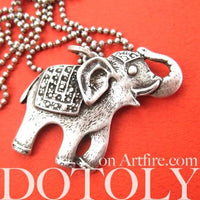 elephant-happy-cute-animal-pendant-necklace-in-silver