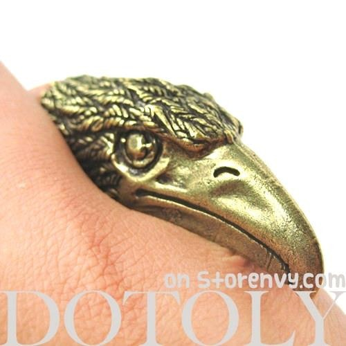 adjustable-3d-eagle-hawk-bird-statement-animal-ring-in-bronze