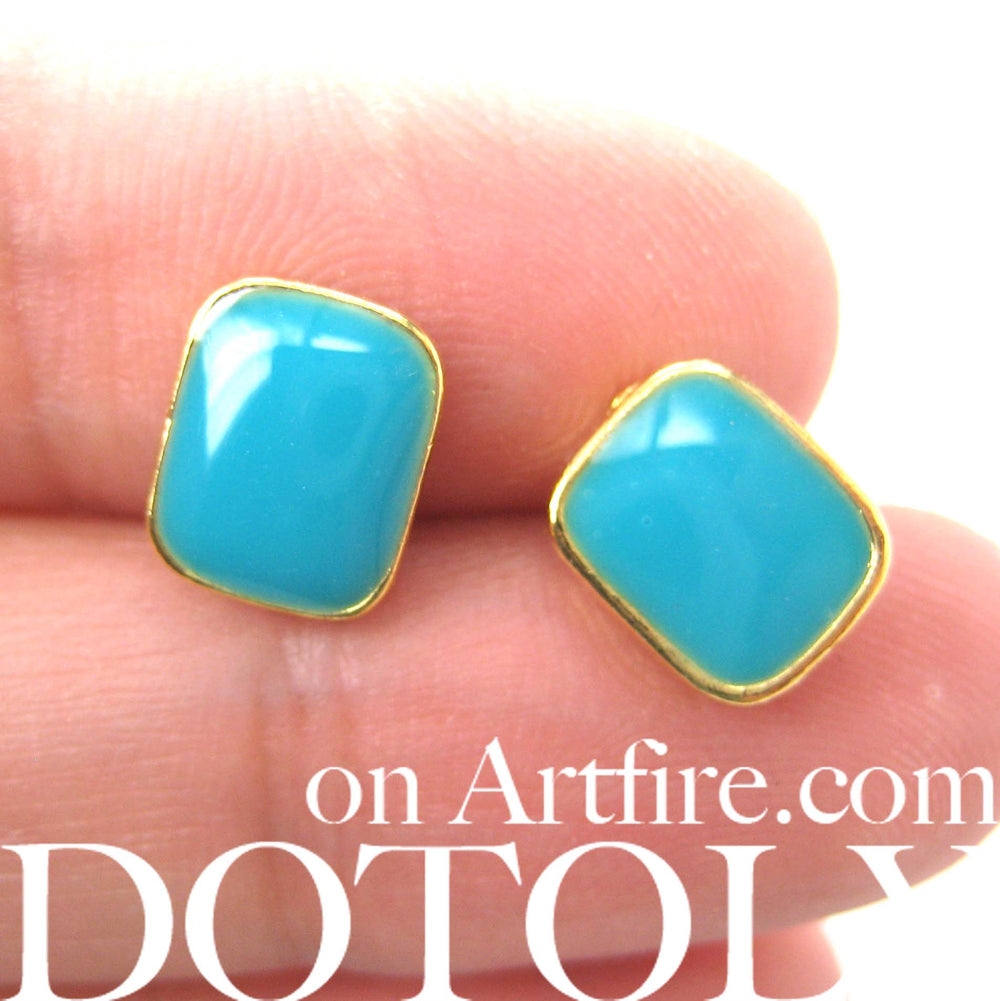 small-rectangular-turquoise-blue-on-gold-stud-earrings-simple-and-cute