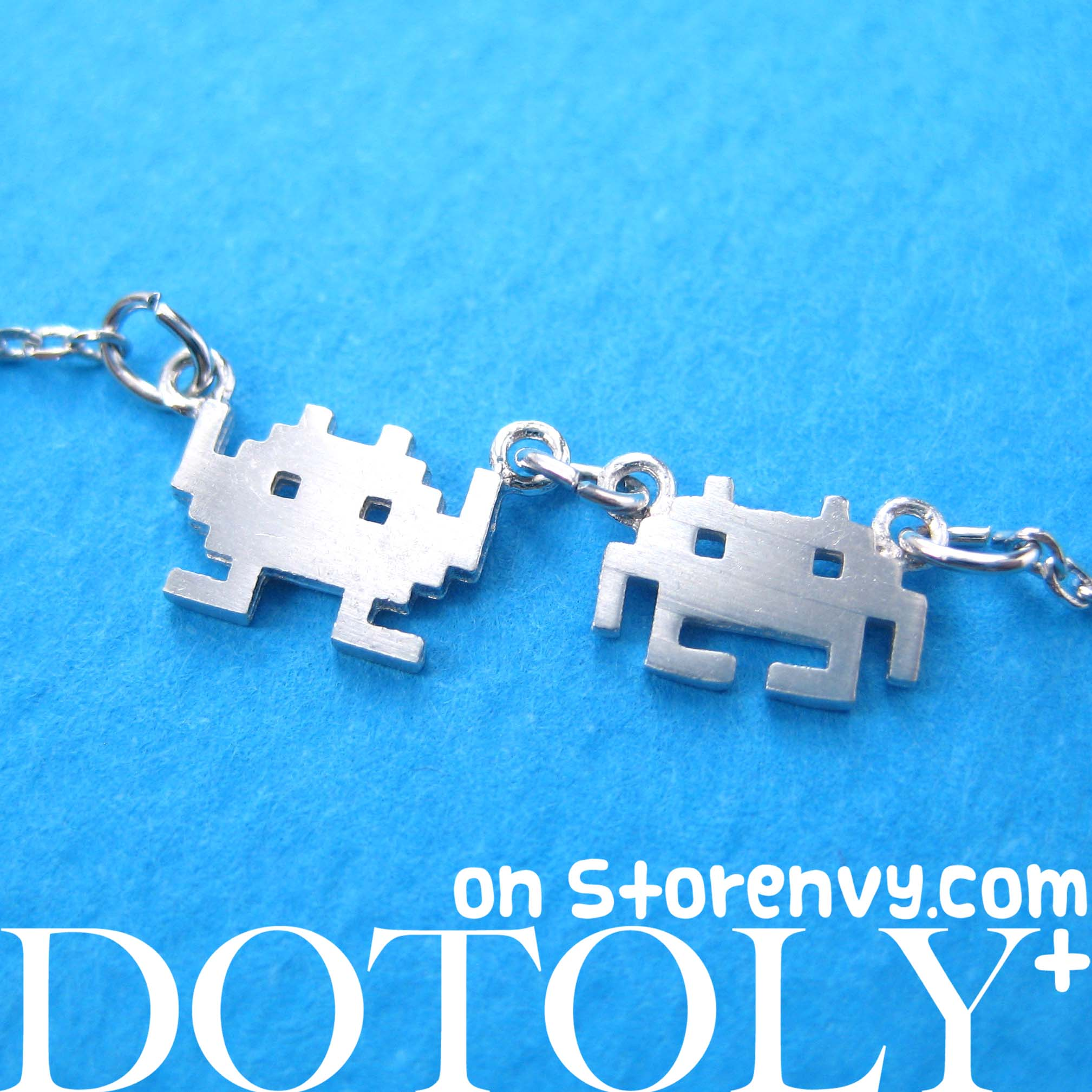 atari-space-invaders-alien-pixel-charm-necklace-in-sterling-silver