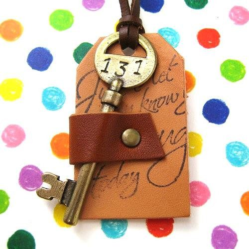 ink-handwriting-on-leather-antique-hotel-room-skeleton-key-necklace