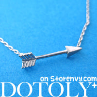 small-arrow-feather-arrowhead-charm-necklace-in-silver