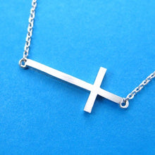 simple-cross-shaped-bar-necklace-in-sterling-silver
