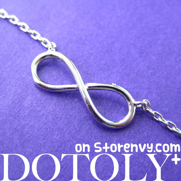 simple-infinity-loop-outline-promise-friendship-bracelet-in-silver