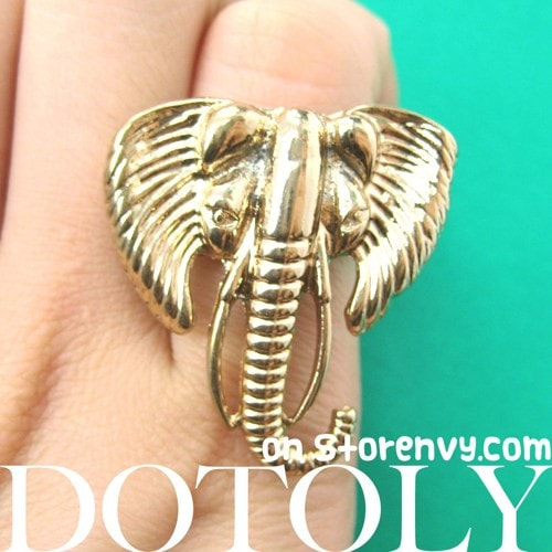 antique-large-elephant-animal-ring-in-gold-size-7-only
