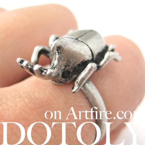 adjustable-horned-stag-beetle-insect-realistic-animal-ring-in-silver
