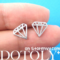 diamond-shaped-stud-earrings-in-silver
