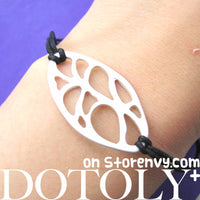 unique-organic-shaped-cut-out-charm-bracelet-in-silver