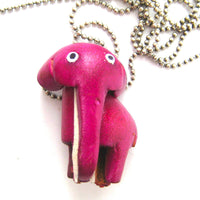 faux-leather-elephant-animal-charm-necklace-with-mobile-strap