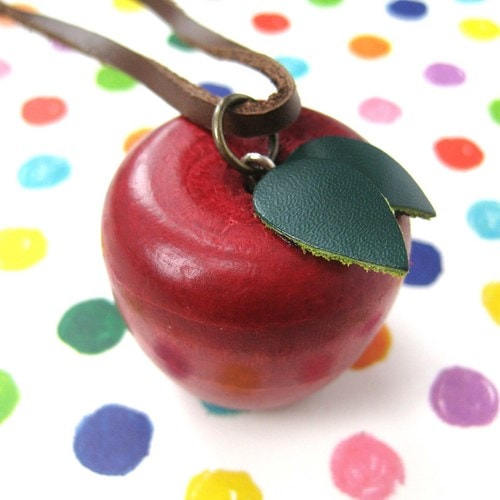 miniature-hand-carve-red-wood-apple-fruit-necklace-with-leather-detail
