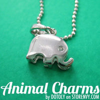 small-and-simple-elephant-animal-charm-necklace-in-silver