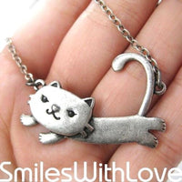 floating-kitty-cat-animal-pendant-necklace-in-silver