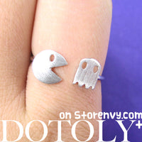 arcade-pacman-pac-man-adjustable-ring-in-silver
