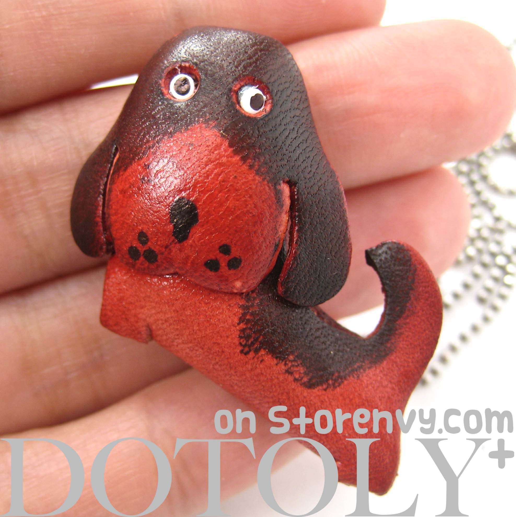 faux-leather-puppy-dog-animal-charm-necklace-with-mobile-strap