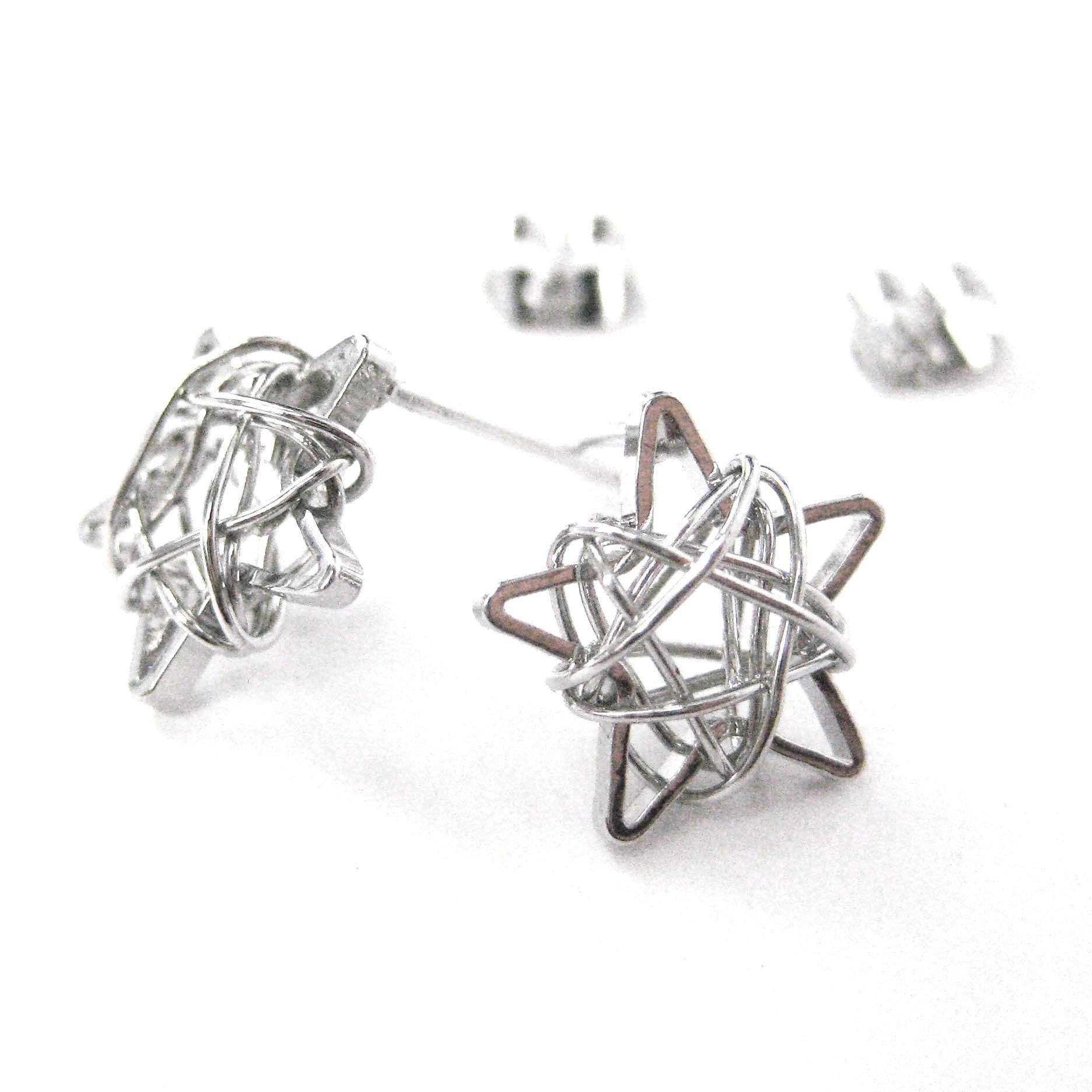 mini-3d-starry-night-star-stud-earrings-in-silver