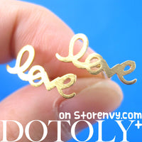 love-cursive-stud-earrings-in-gold-with-sterling-silver-posts