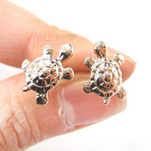 cute-turtle-tortoise-sea-animal-stud-earrings-in-rose-gold