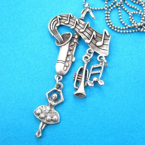 musical-note-ballerina-trumpet-saxophone-necklace-in-silver