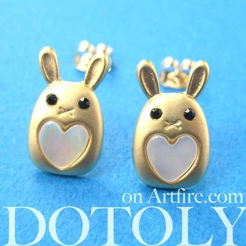 small-bunny-rabbit-animal-stud-heart-earrings-in-gold-allergy-free