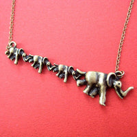 elephant-animal-charm-necklace-in-bronze